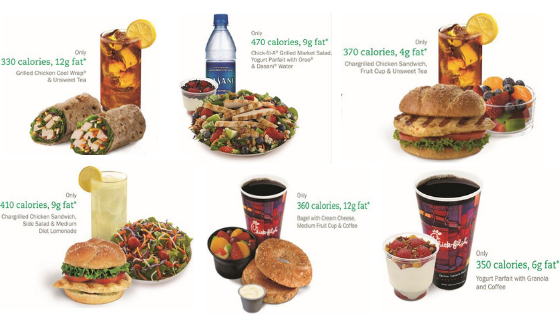 Chick-Fil-A healthier eating options